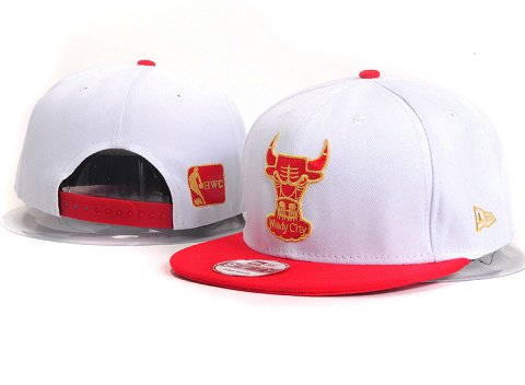 Chicago Bulls NBA Snapback Hat YS262